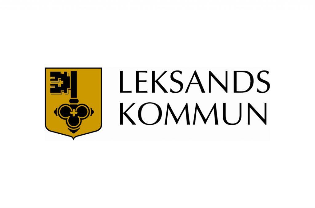 Logotyp på samarbetspartner Leksands kommun