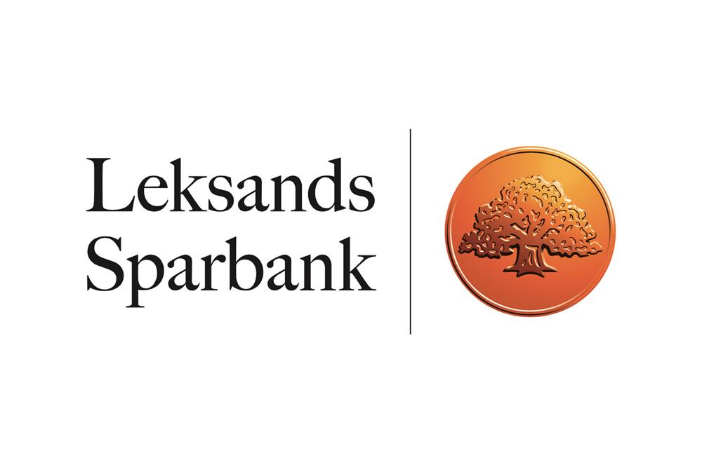 Logotyp på samarbetspartner Leksands Sparbank