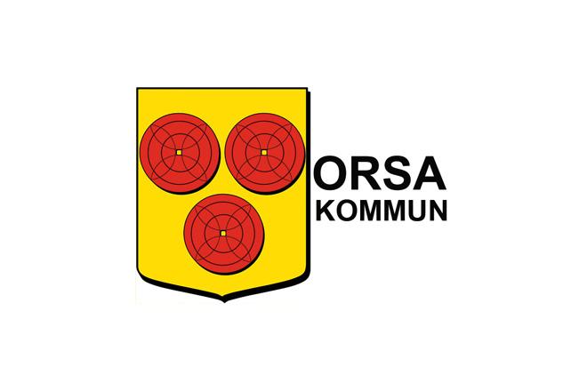 Logotyp på samarbetspartner Orsa Kommun
