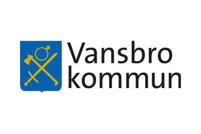 Logotyp på samarbetspartner Vansbro kommun